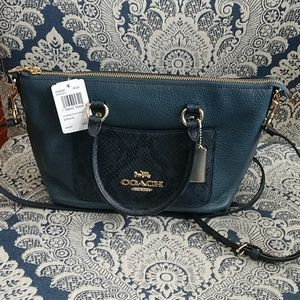 Coach Mini Emma Satchel NWT